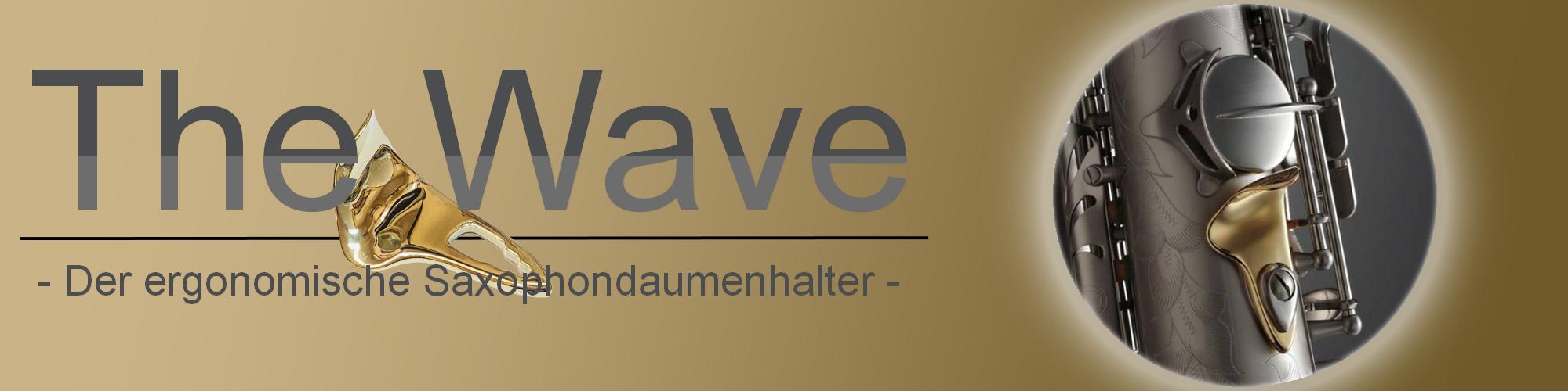 The Wave Daumenhalter Saxophon